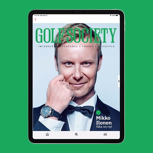 Golf Society reaches 17,000 readers for first issue link